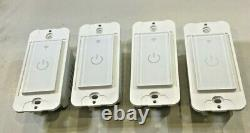 Lot of 10 WiFi Smart Light Switches & Dimmers, works with Alexa & Google IFTTT
