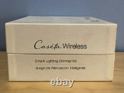 Lutron Caseta Wireless Smart Lighting Dimmer Kit P-BDG-PKG2P