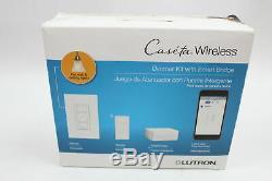 Lutron Caseta Wireless Smart Lighting Dimmer Switch (2 count) Starter Kit