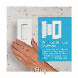 Lutron Caseta Wireless Smart Lighting Dimmer Switch (2 count) Starter Kit New