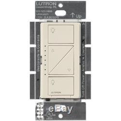 Lutron Caseta Wireless Smart Lighting Dimmer Switch (8-pack) (Light Almond)