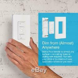 Lutron Caseta Wireless Smart Lighting Dimmer Switch Starter Kit