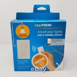 Lutron Caseta Wireless Smart Lighting Dimmer Switch Starter Kit, Apple HomeKit