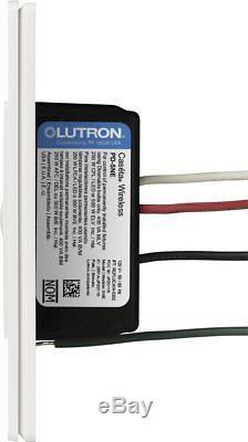 Lutron Caseta Wireless Smart Lighting Dimmer Switch (White) (6-Pack)