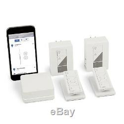Lutron Caseta Wireless Smart Lighting Kit with Plug-in Dimmers & Pico Remotes NEW