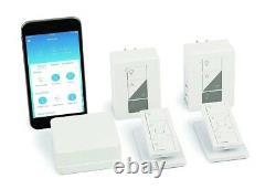 Lutron Caseta Wireless Smart Lighting Lamp Dimmer (2 count) Starter Kit P-BDG-PK
