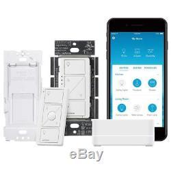 Lutron Caseta Wireless Smart Lighting Single Pole/3-way Dimmer Switch Starter