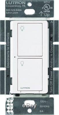 Lutron Caseta Wireless Smart Lighting Switch (White) (4-Pack)