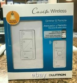 Lutron Caseta Wireless Smart Wall Light Dimmer Switch + Remote (LOT OF 8)