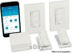 Lutron Casta Wireless Smart Lighting Dimmer Switch (2-Pack) Starter Kit