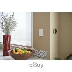 Lutron Dimmer Switch Starter Kit Caseta Wireless Smart Lighting White 2 Count