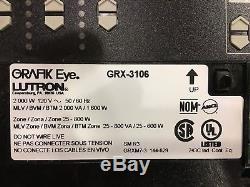 Lutron Grafik GRX-3106 6 Zone Wireless Lighting Control & 2 Switches