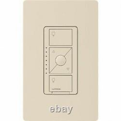 Lutron PD-5NE-LA Caseta Wireless Electronic In-Wall Dimmer 120V Light Almond