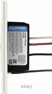 Lutron PD-5NE-WH Caseta Wireless Electronic In-Wall Dimmer 120V White