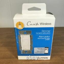 Lutron PD-6WCL-WH Caseta Wireless In-Wall Smart Lighting Dimmer Switch BOX OF 10