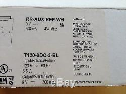 Lutron Radio RA2 RR-AUX-REP-WH, Auxiliary Repeater, Lighting Dimmer Switches