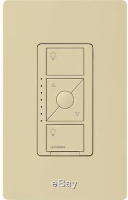 Lutron Smart Lighting Dimmer Switch 3.3 Amp 500-Watt Programmable Tap Control