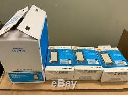 Lutron caseta wireless dimmer PD-6WCL-LA LIGHT ALMOND 3PACK
