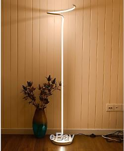 MOTINI LED Floor Lamp Modern Style Standing Light Built in Dimmer Switch with 3