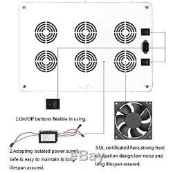 Morsen 2400W LED Grow Light Dimmer On Off Switch Full Spectrum For Hydroponic /
