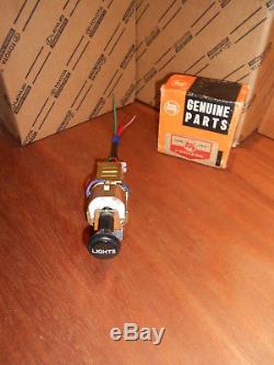 NOS OEM Toyota LandCruiser Head Light Lamp Switch Dimmer Knob KIT FJ40 Harness