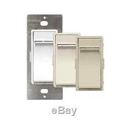 New Vizia RF Z Wave Universal Dimmer Light Control Switch 1000VA in White Color