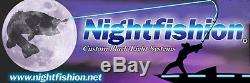 NightFishion DECK LIGHTS 8 flush mount with dimmer switch LIFETIME WARRANTY