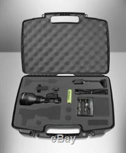 NightSnipe NS750 Extreme Adjustable Beam Hunting Light Red LED