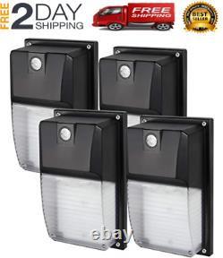 Outdoor LED Wall Mount Yard Security Light 18W Lighting Dusk to Dawn Photocell