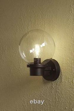 Outside Lighting Nemi Up Outdoor Wall Light / Dusk Till Dawn Sensor /