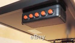 PDR Light 6 Lines. 6 Switches. Dimmer. Universal Bracket. Set of Wires