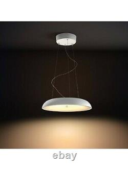 Philips Hue 4023331P6 Amaze LED Pendant Light With Dimmer Switch, White