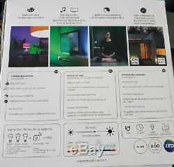 Philips Hue Colour Smart Bulb Starter Kit 3 Bulbs Light Dimmer Switch Bridge Hub