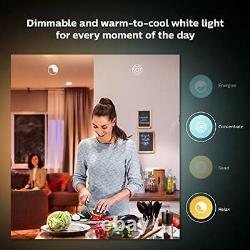 Philips Hue White Ambiance Starter Kit, Smart Bulb 3 Pack LED E27 Edison Screw