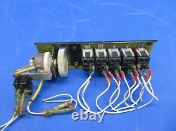 Piper PA-28-140 Cherokee Switch Panel Dimmer, Pitot Heat, Lights (1020-14)