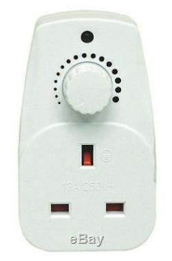Plug In Adjustable Dimmer Switch Home Lamp Light Intensity Control- 13A