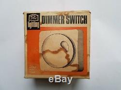 Prova Lighting Rotary Dimmer Switch White Genuine Retro Vintage Original New Bhs