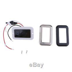 RV Marine Boat LED Digital Light Dimmer Switch 12-24V 100W 21030-BKBNBK