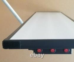 SALE -pdr-dent 3 Lines (C W C) Light. Dimmer. Balls Bracket. Switches. Smd2835