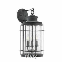 Savoy House Lighting 5-2671-88 Fletcher Outdoor Wall Light Oxidized Black