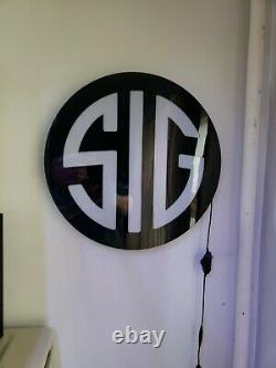 Sig Sauer Logo Collector Plug In Light With Dimmer Switch