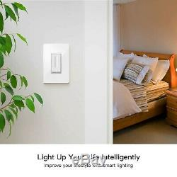 Smart Dimmer Switch, Neutral Wire Required, Treatlife WiFi Light Switch for. New
