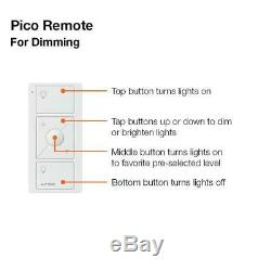 Smart Home Automation Dimmer Switch Wireless Light Control Pico Wall Mount Kit