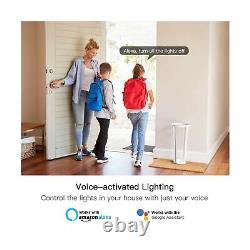 Smart Light Dimmer Switch 4Pack+3-Way Switch 4Pack Bundles