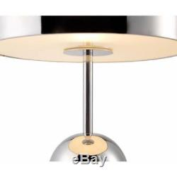 Tom Dixon Bell Table Lamp Light Polished Chrome Intergrated Dimmer Switch