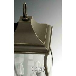 Township Collection 3-Light Outdoor Bronze Hanging Lantern by Progress Lighting