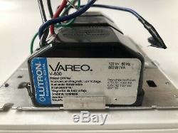 Triple Switch Vareo Lutron V 600 Preset Dimmer 120 V 600 Watt Light Switch