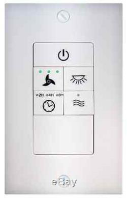 Universal Ceiling Fan Light Wireless Wall Control Switch Kit Dimmer Sd Timer