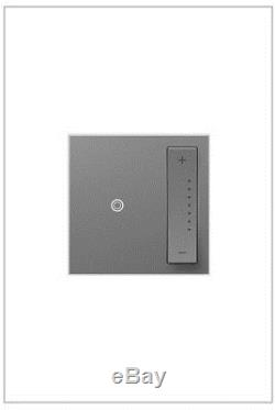 Universal Dimmer 700-Watt Wireless Multi-Location Master Light Switch Magnesium