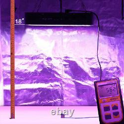 VIPARSPECTRA Dimmable 1200W LED Grow Light Full Spectrum Veg Flower for Plants